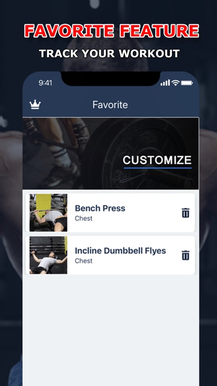 Fitness: Home & Gym Workouts screenshot-6