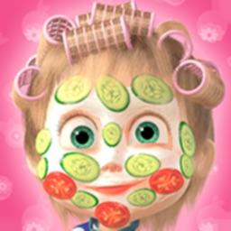 Masha and the Bear Hair Salon