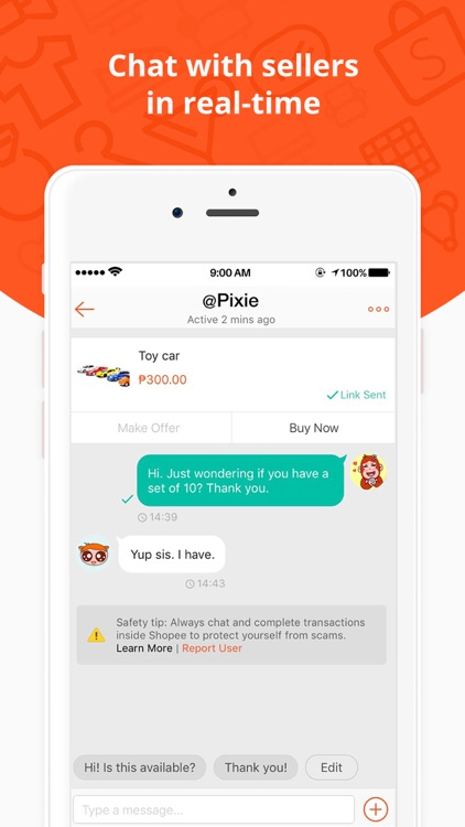 Shopee PH: Buy and Sell Online screenshot-3