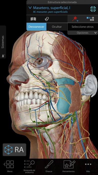 Screenshot for Atlas de anatomía humana 2019 in Ecuador App Store