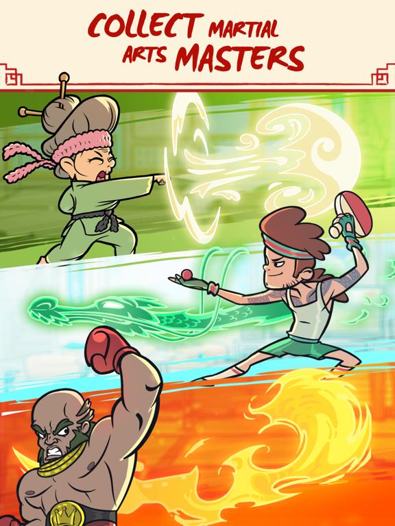 Kung Fu Clicker: Idle Dojo screenshot 8