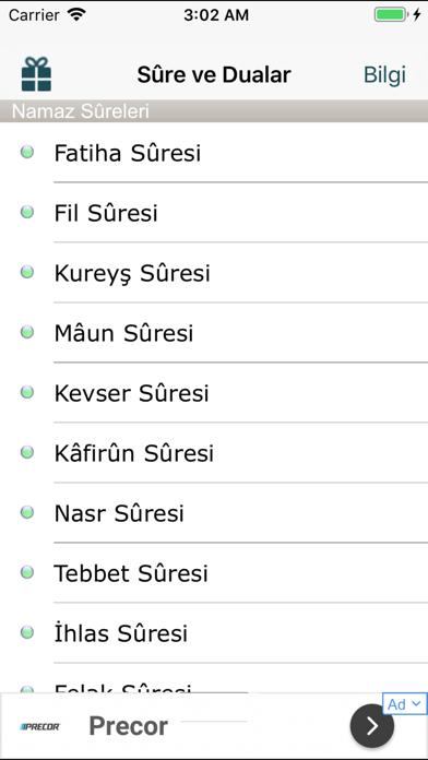 messages.download Namaz Sure ve Duaları software