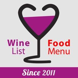 WineAmore - Wine & Food Menu