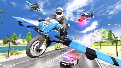 Flying Motorbike Simulatorのおすすめ画像3