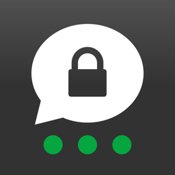 Ícone do app Threema. Messenger seguro