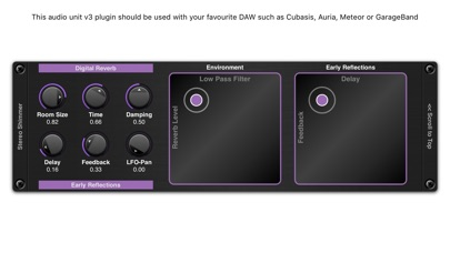 Screenshot for Shimmer AUv3 Audio Plugin in Brazil App Store