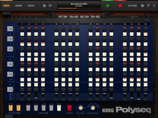 Screenshot #6 pour KORG iPolysix for iPad