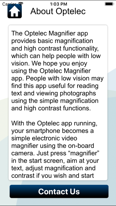 Optelec iPhone