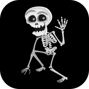 Skeleton Stickers Pack