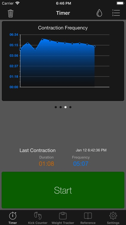 Full Term - Contraction Timer screenshot-3