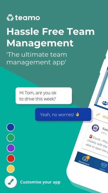 Teamo - Team Management screenshot-0