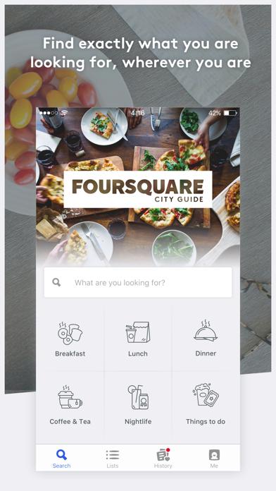 Foursquare City Guide ScreenShot0