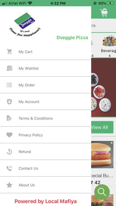 Dveggie Pizza screenshot 1