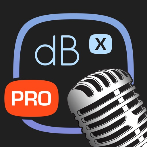 Decibel X PRO: dBA Noise Meter iOS App