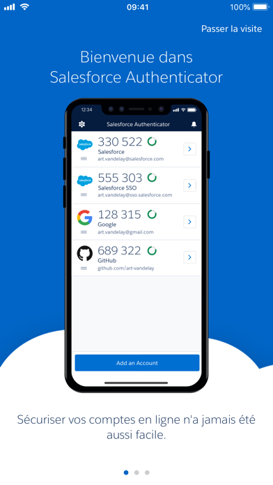 Screenshot #1 pour Salesforce Authenticator