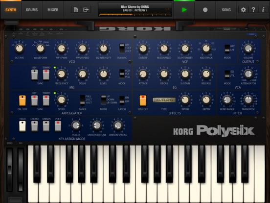 Screenshot #5 pour KORG iPolysix for iPad