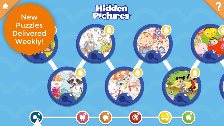 Hidden Pictures Puzzle Town screenshot-1