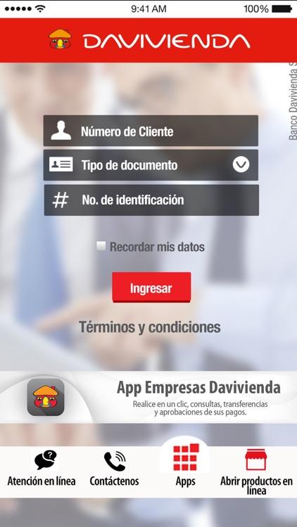 Empresas Davivienda Móvil