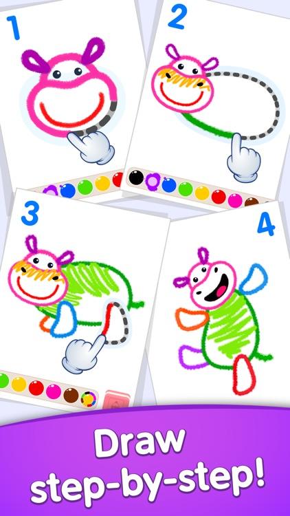 Drawing kids games for toddler screenshot-6