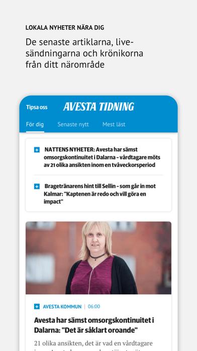 Avesta Tidning på PC