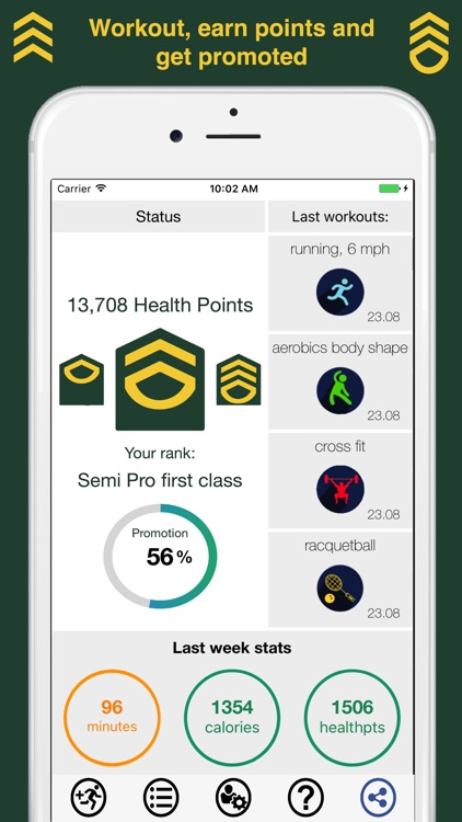 Fit Rank, promote your health
