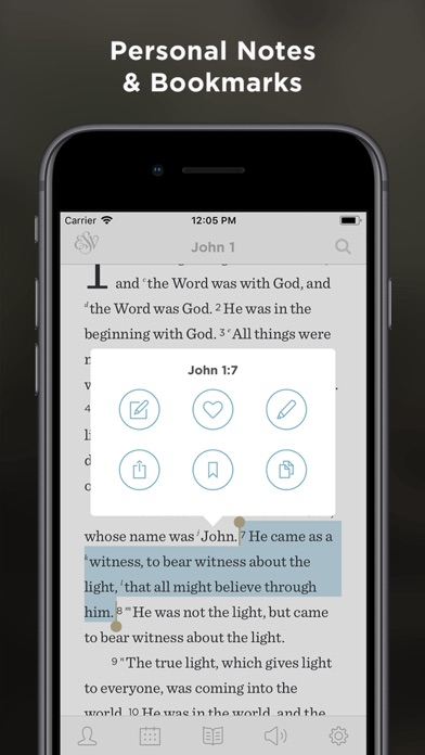 Screenshot for ESV Bible in Ukraine App Store