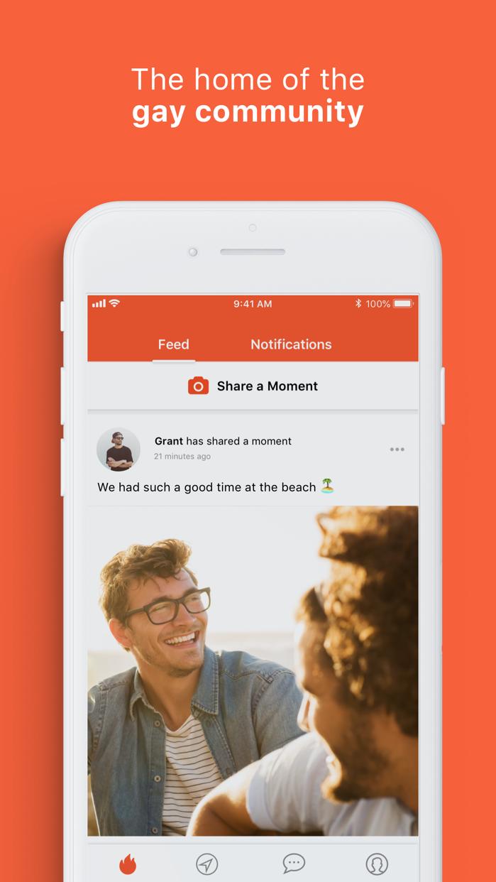 Hornet, The Gay Social Network Screenshot