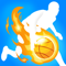 App Icon for Dribble Hoops App in Indonesia IOS App Store