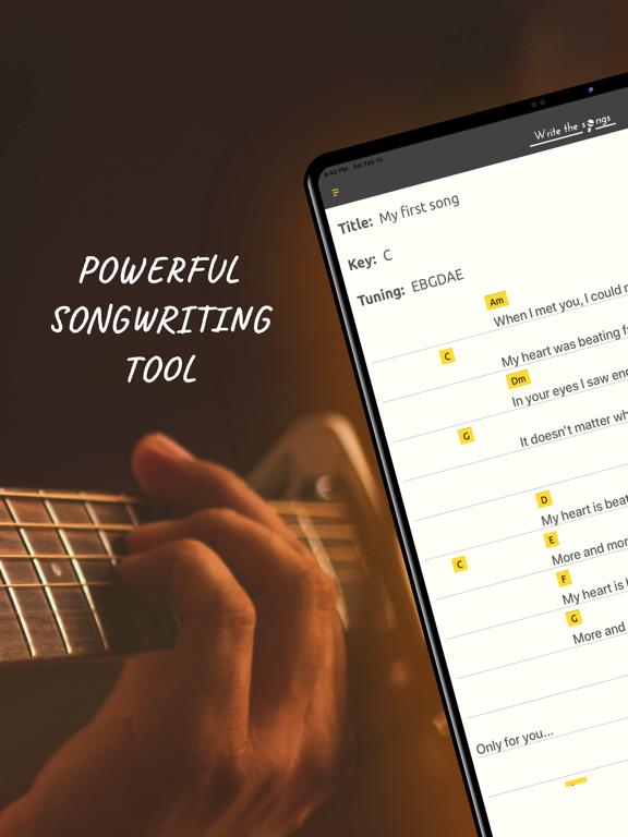 Write Song-Song maker,Composer screenshot