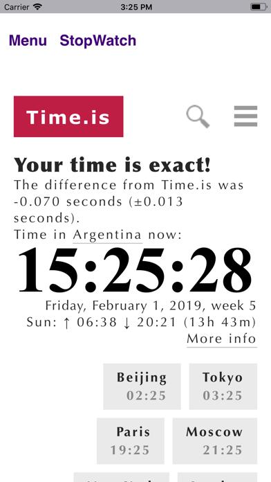 StopWatch Clock - BA.net screenshot four