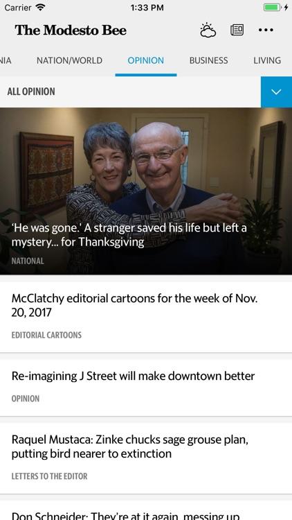 The Modesto Bee News screenshot-4