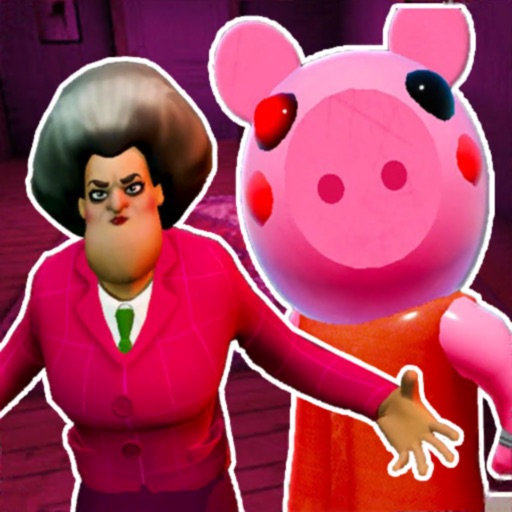 Piggy vs Scary Teacher in Sub