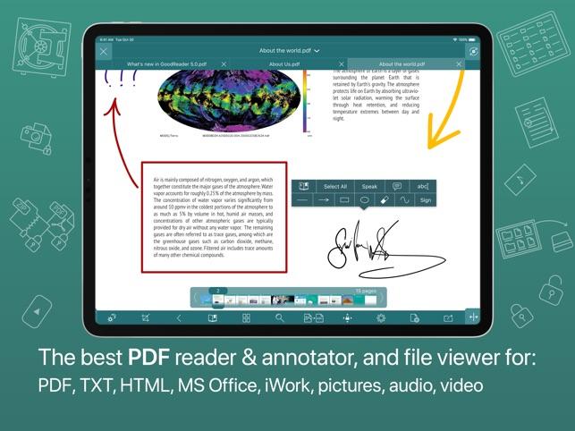 goodreader manual ipad