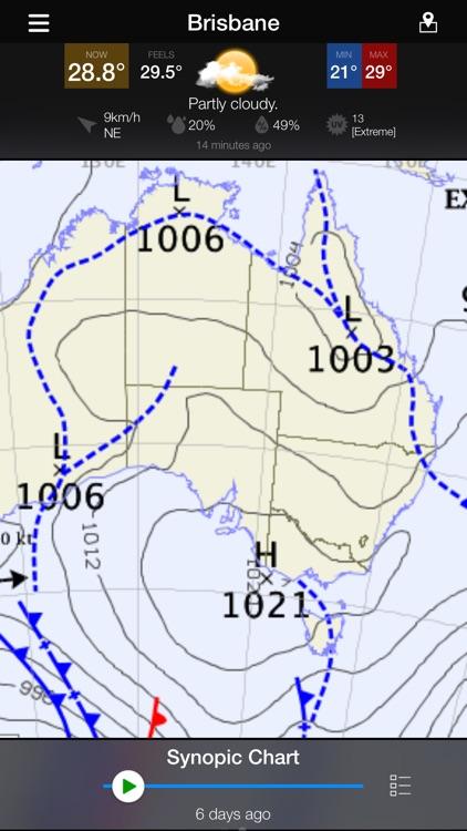 WeatherAlert: AUS Radar screenshot-4