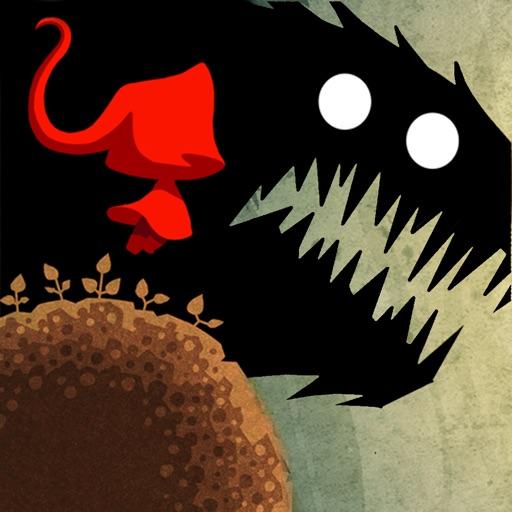 小紅帽歷險記:暗黑風格的跳躍冒險遊戲