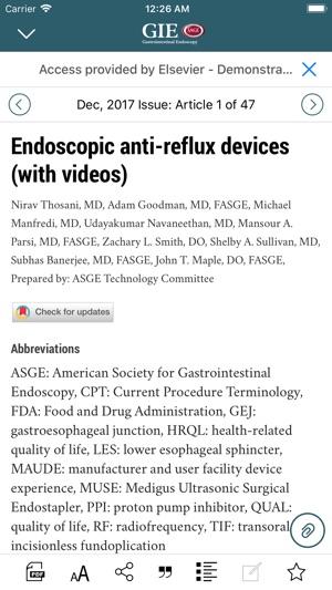 Gastrointestinal Endoscopy on the App Store