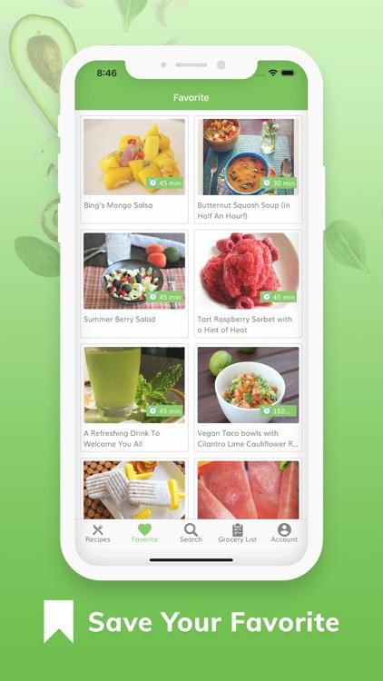 Vegan Recipes - Plant Based screenshot-9