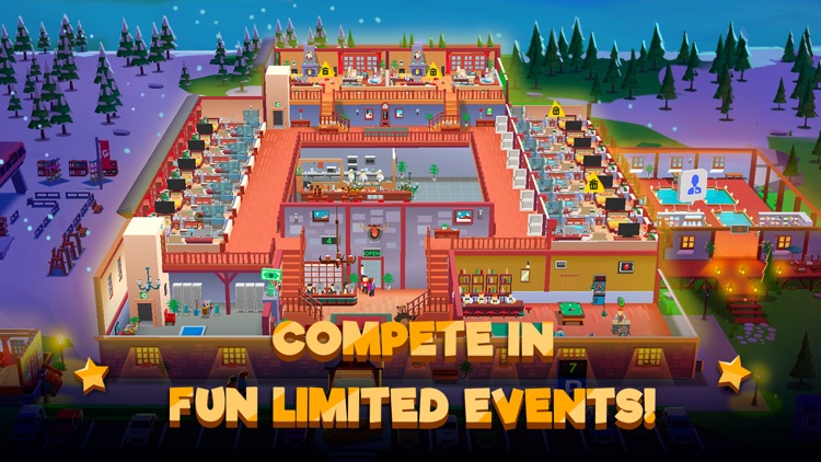 Hotel Empire Tycoon-Idle Game