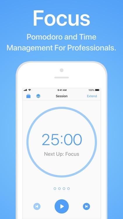 Focus - Time Management screenshot-0