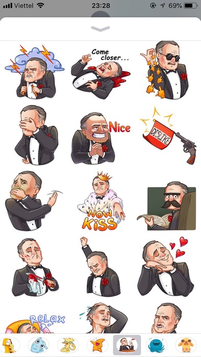 Business Style Funny Stickers screenshot 2