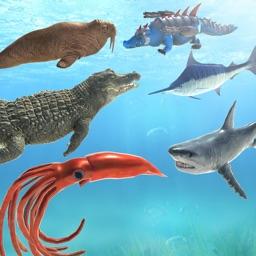 Sea Animal Battle Simulator
