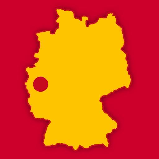Cologne, Bonn & Dusseldorf Map