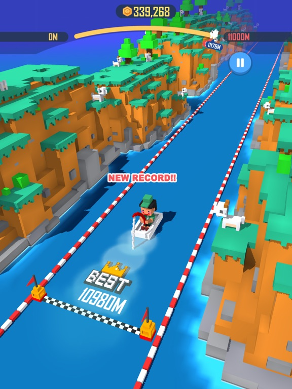 Jump Rider: Crazy Boat screenshot 9