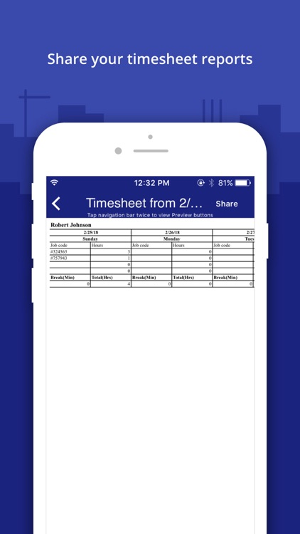 Timesheet Manager App screenshot-4