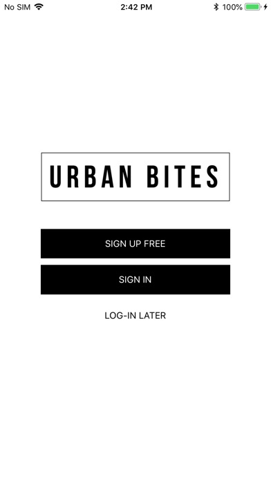 Screenshot for Urban Bites in United States App Store