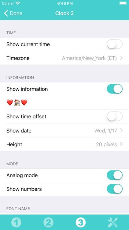 Clock Widget screenshot-3
