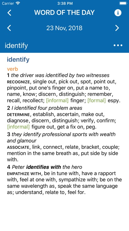 Oxford American Dict. & Thes. screenshot-3