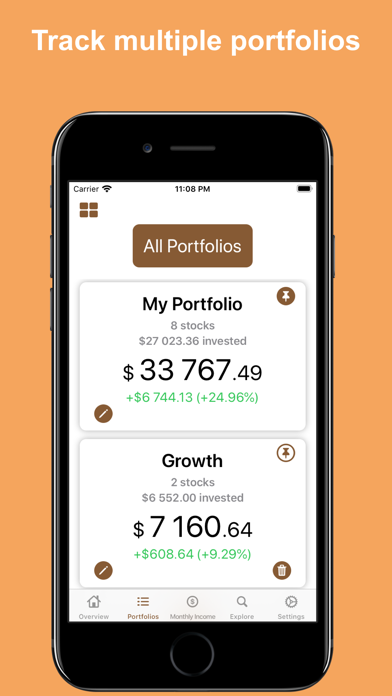 Dividend Tracker° Screenshot