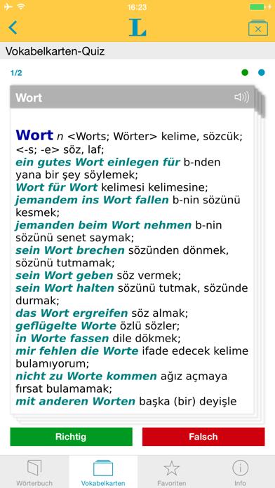 Großes Türkisch Wörterbuchのおすすめ画像3