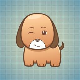 Sticker Me Cute Puppy